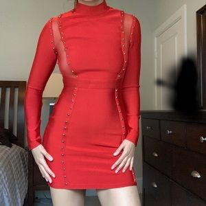 Red house of CB dress